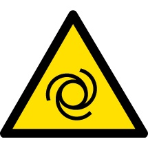 Machinery Hazard Warning Signs