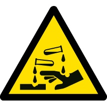 Corrosive Safety Signs