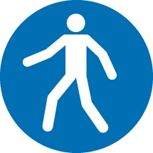 Pedestrian Access Signs