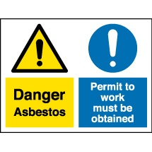 Asbestos Multi Message Safety Signs