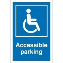 Accessible Parking Bay Signs
