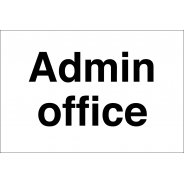 Admin Office Signs
