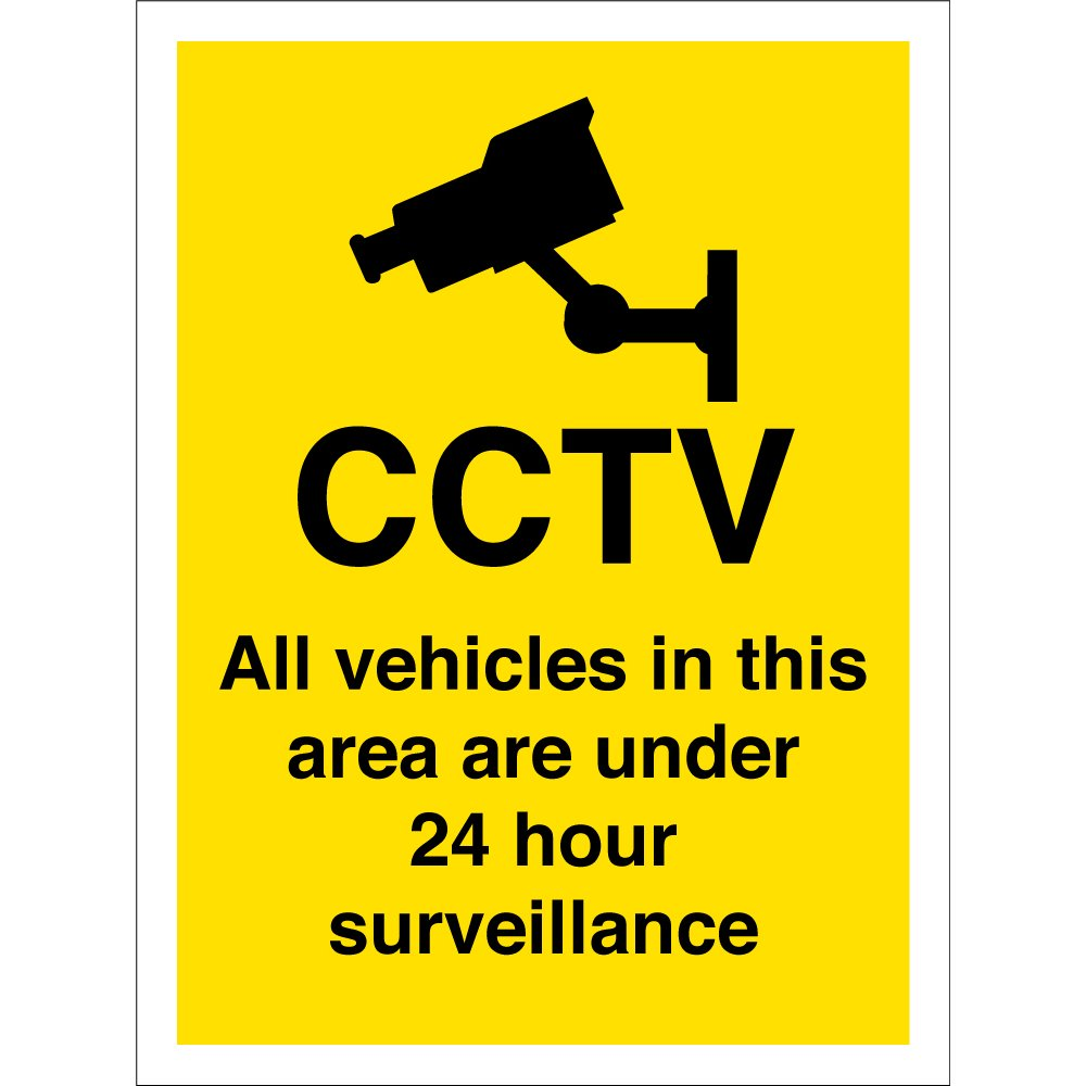 All Vehicles In This Area Are Under 24 Hour Surveillance