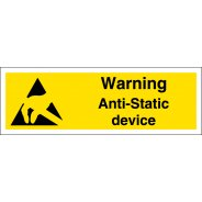 Anti Static Device Signs