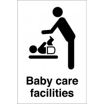 Baby Care Facilities Signs