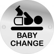 Baby Change Door Signs