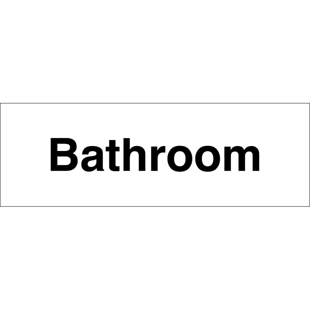 Bathroom Signs Uk bathroom signs - from key signs uk