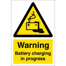 Battery Charging In Progress Signs