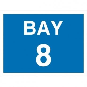Bay 8 Signs