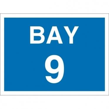 Bay 9 Signs