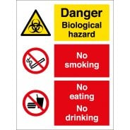 Biological Hazard Safety Signs