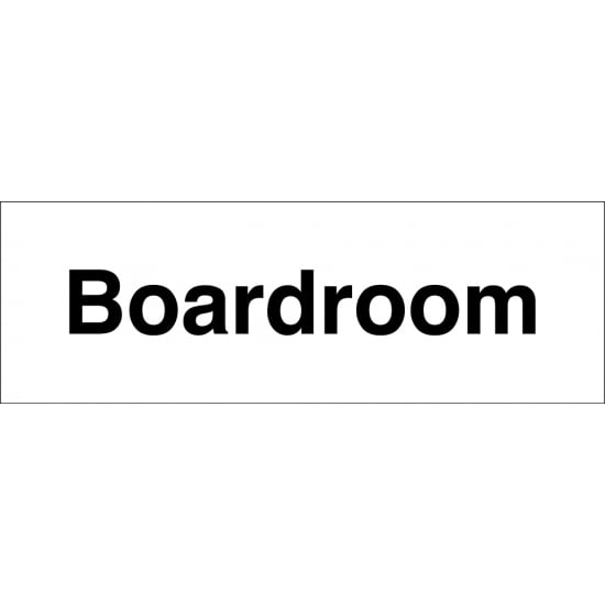 Boardroom Signs