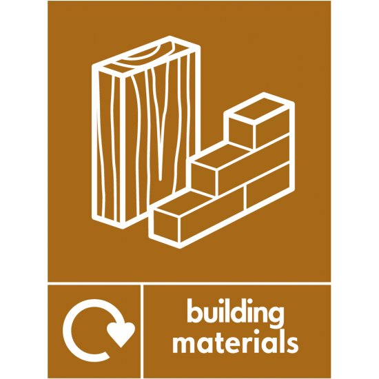 Building Materials Waste Recycling Signs