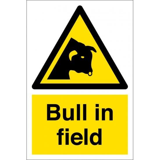 Bull In Field Signs