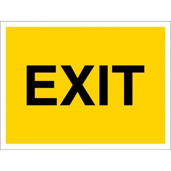 Car Park Exit Sign