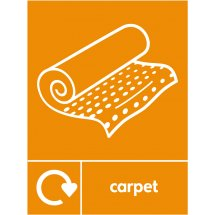 Carpet Waste Recycling Signs