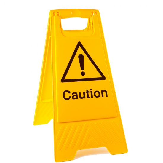 Caution Floor Stands