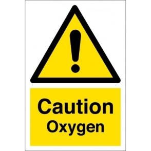 Caution Oxygen Signs