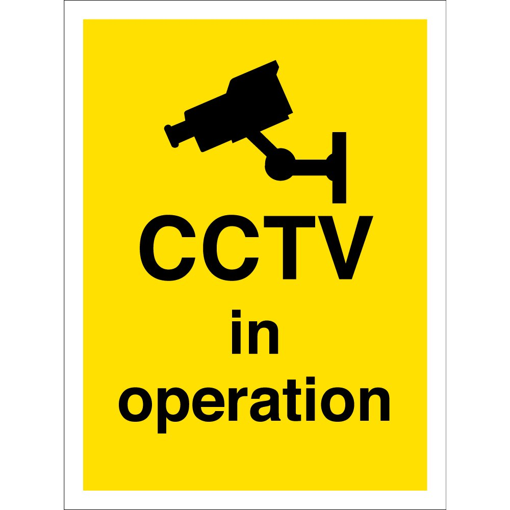 Cctv In Operation Signs From Key Signs Uk