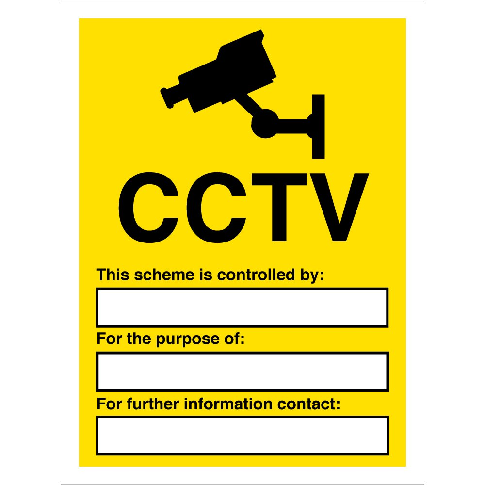 Cctv Signs From Key Signs Uk