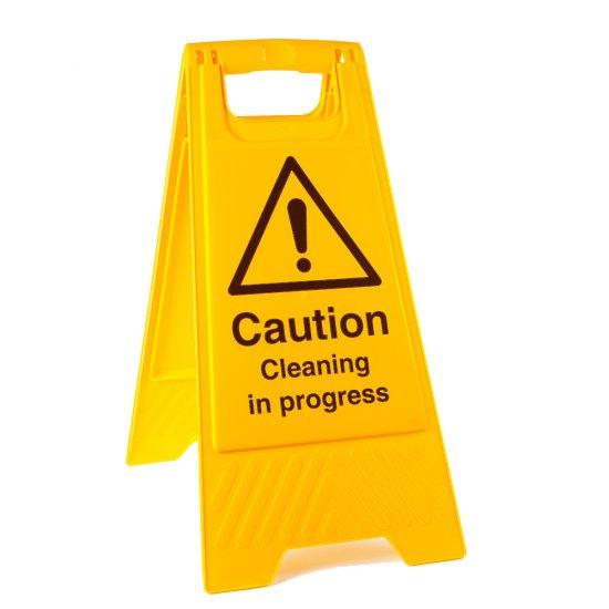 Cleaning In Progress Floor Stands