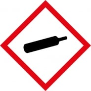 Compressed Gas GHS Labels