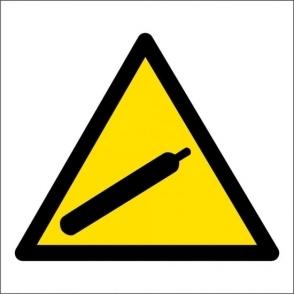 Compressed Gas Hazard Signs