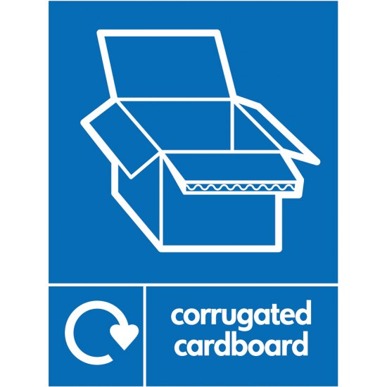 Corrugated Recycling Signs