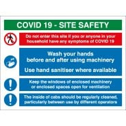 COVID Site Safety Signs