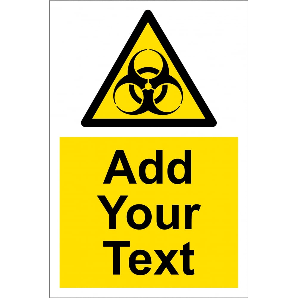 Custom Biohazard Signs From Key Signs Uk