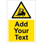 Custom Fork Lift Trucks Signs