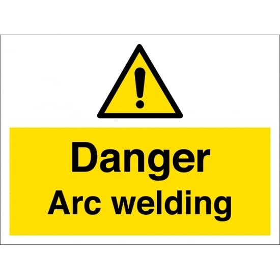 Danger Arc Welding Signs