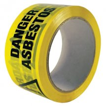 Danger Asbestos Tape 50mm x 66m