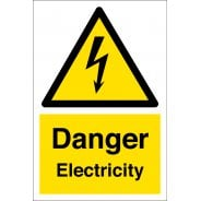 Danger Electricity Safety Signs