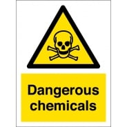 Dangerous Chemicals Signs