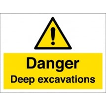 Deep Excavations Signs