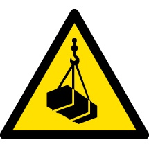 Overhead Loads Warning Signs