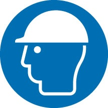 Head Protection Safety Signs