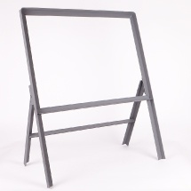 Metal Stanchion Sign Frames