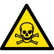 Toxic Material Warning Signs