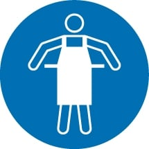 Protective Apron Signs