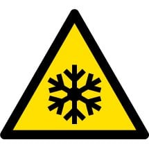 Low Temperature Safety Signs