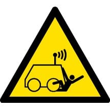 Remote Operator Controlled Machine Signs