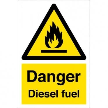 Diesel Fuel Warning Signs