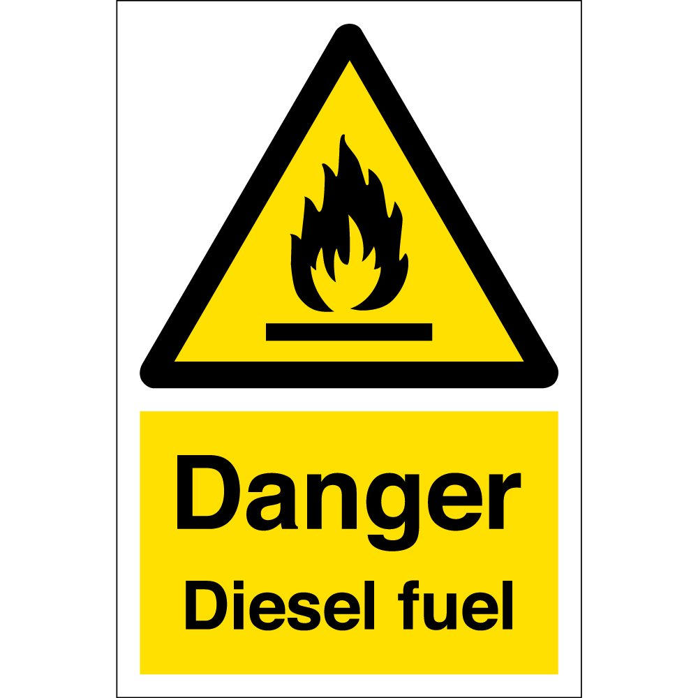 Diesel Fuel Warning Signs From Key Signs Uk