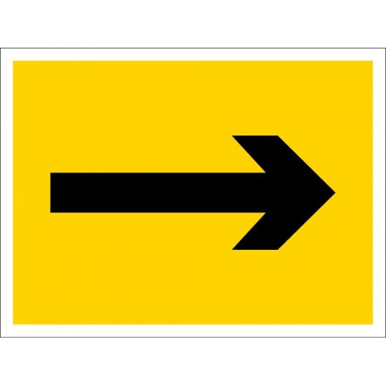 Directional Arrow Signs Right Or Left