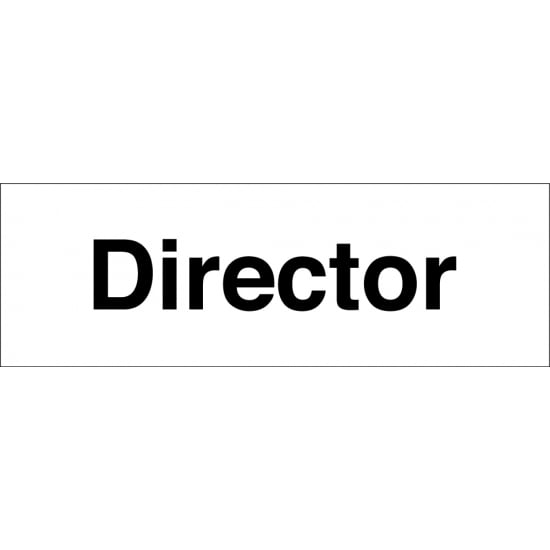 Director Signs
