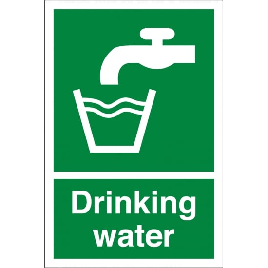 Drinking Water Signs - from Key Signs UK
