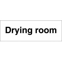 Drying Room Signs