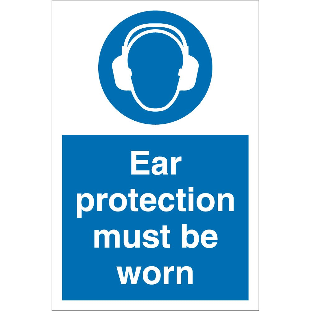 Ear Protection Must Be Worn Signs From Key Signs Uk
